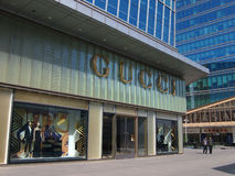 GUCCI flagship store Royalty Free Stock Photography
