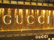 GUCCI flagship store Royalty Free Stock Image