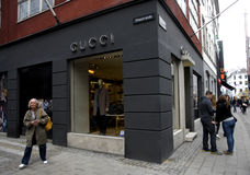 Gucci lager Royaltyfria Foton