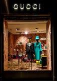 Gucci lager royaltyfria bilder