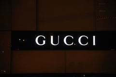 Gucci logo Royalty Free Stock Photos