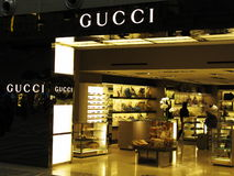 Gucci luxury brand Royalty Free Stock Photos