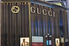 GUCCI marca a caldo Immagini Stock