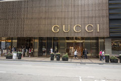 Gucci Shop Royalty Free Stock Photos