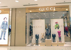 Gucci shop in hong kong Stock Image