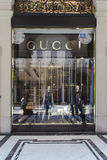 Gucci shop Stock Image