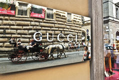 Gucci sign Stock Images