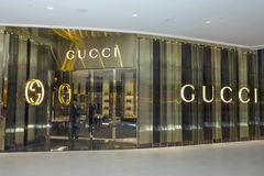 Gucci store Royalty Free Stock Photo