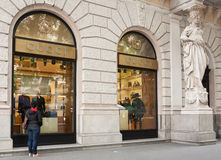 Gucci store, Budapest Royalty Free Stock Images
