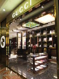Gucci store at the High Street Phoenix Mall in Mumbai. India Royalty Free Stock Images