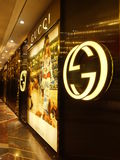 Gucci store at the High Street Phoenix Mall in Mumbai. India Stock Photos