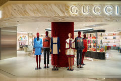 Gucci store Stock Images