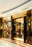 Gucci store Stock Photography