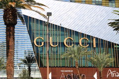 Gucci Store - Las Vegas Royalty Free Stock Image