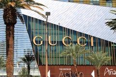 Gucci Store - Las Vegas Royalty Free Stock Image