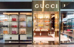 Gucci store in Munich airport Royalty Free Stock Photos