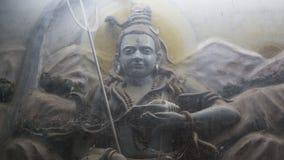 Gud Shiva Bolenath Murti i den Jaipur templet Royaltyfria Bilder