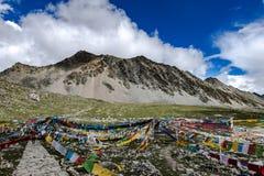 Gud sjö, Tibet Arkivbilder
