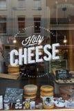 Guda Cheese shop in Amsterdam stock photography