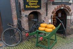 Guda-Käsegeschäft in Amsterdam stockfoto