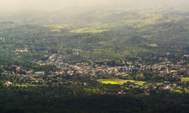 Gudalur from Needle rock view point in Nilgiris Stock Photography