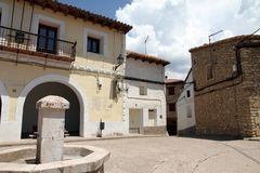 Gudar fountain Teruel  Aragon Spain Stock Image