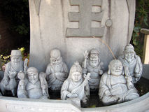 gudar sju Fotografering för Bildbyråer