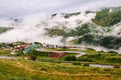 Gudauri, république de Géorgie Photo libre de droits