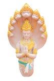 Gudbild med Naga Arkivbilder