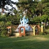 Guden i nath för Indien shivSanker bhole arkivbild