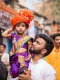 Gudhi Padva festival arkivfoton