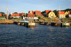 Gudhjem on Bornholm Island, Denmark Royalty Free Stock Image