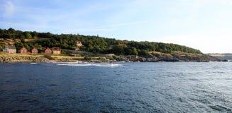 Gudhjem on Bornholm Island, Denmark Royalty Free Stock Photo