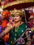 Gudi padavaberöm i Mumbai royaltyfri foto