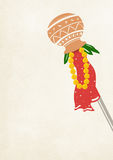 Gudi Padwa Royalty-vrije Stock Afbeelding