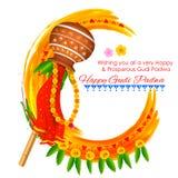 Gudi Padwa ilustracji