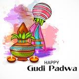 Gudi Padwa Imagens de Stock Royalty Free