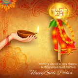Gudi Padwa Royalty Free Stock Photography