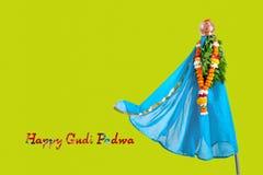 Gudi Padwa Marathi nowy rok zdjęcie royalty free