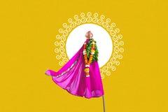 Gudi Padwa Marathi nowy rok zdjęcie stock