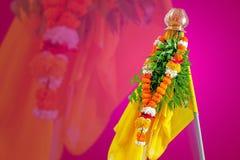 Gudi Padwa Marathi nowy rok zdjęcia stock