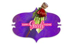 Gudi Padwa Marathi nowy rok zdjęcia royalty free
