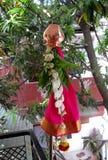Gudi tradicional Padwa Fotos de archivo