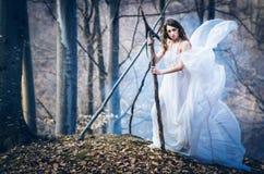 Gudinna av naturen royaltyfri bild