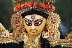 Gudinna Durga Arkivbild