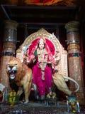 Gudinna Durga Arkivfoton