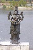 Gudinna Kaveri Arkivbild
