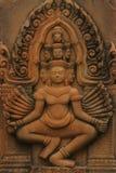 Gudinnagrav i sten Royaltyfri Fotografi