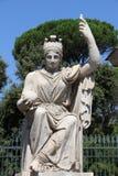 Gudinnan Rome royaltyfria bilder