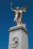 gudinnaniken stöttar krigare Royaltyfri Bild